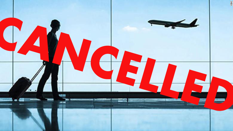 All commercial flights set to end this week