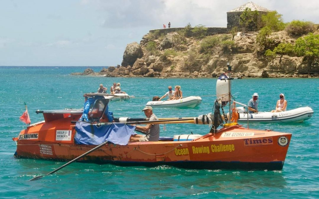 Pensioner's world-record breaking journey ends in Antigua