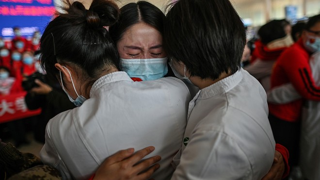 Wuhan Celebrates the End of Its Coronavirus Lockdown After 76 Long Days