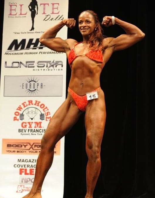 Former bodybuilder says her drive was to be the best