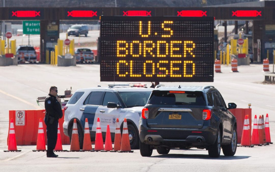 Canada-U.S. border to remain closed to non-essential travel for another month, PM says it's the 'right thing'
