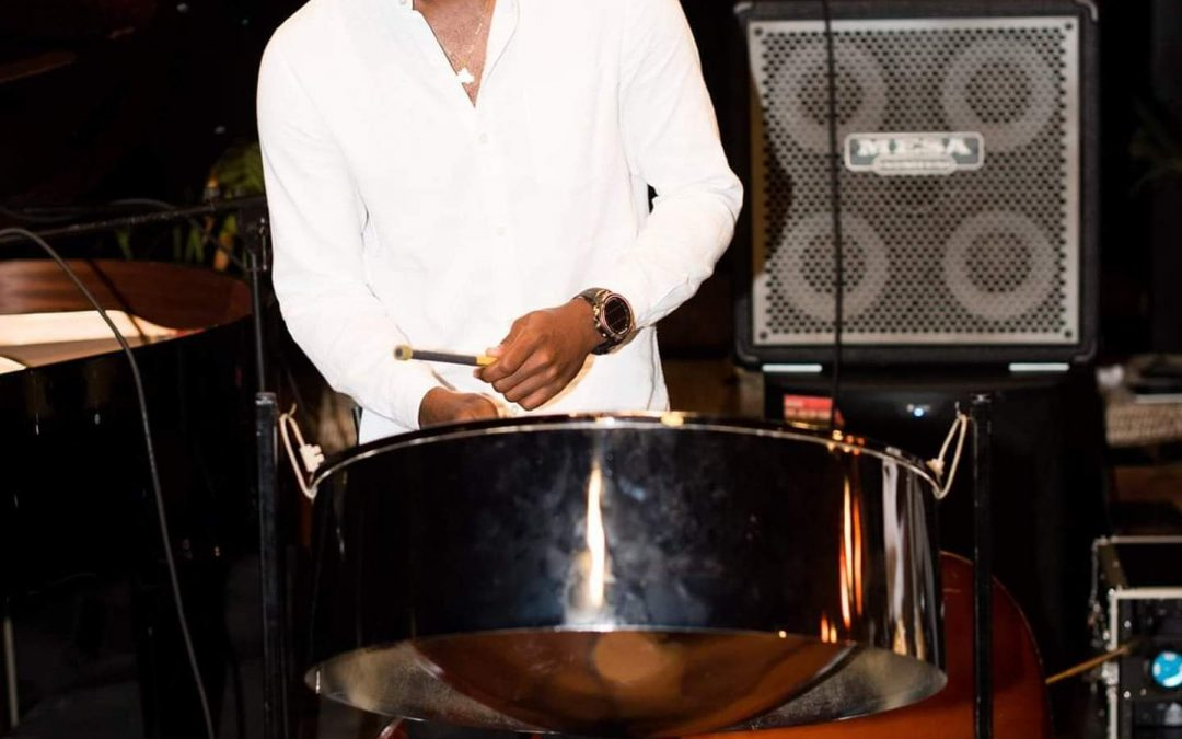 Antiguan pannist tuning up for international contest finals – on Instagram
