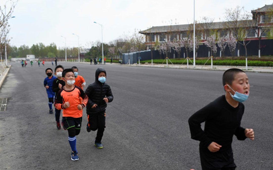 International: Two boys drop dead in China while wearing masks during gym class