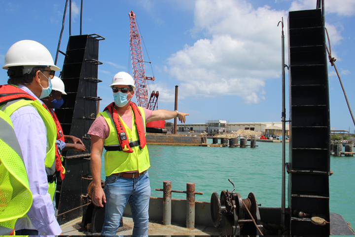 Port expansion project passes halfway mark