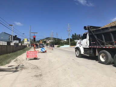 Roadworks project set back by Covid-19