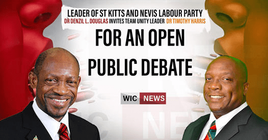 REGIONAL: Douglas challenges PM Harris to a debate before the June 5 election