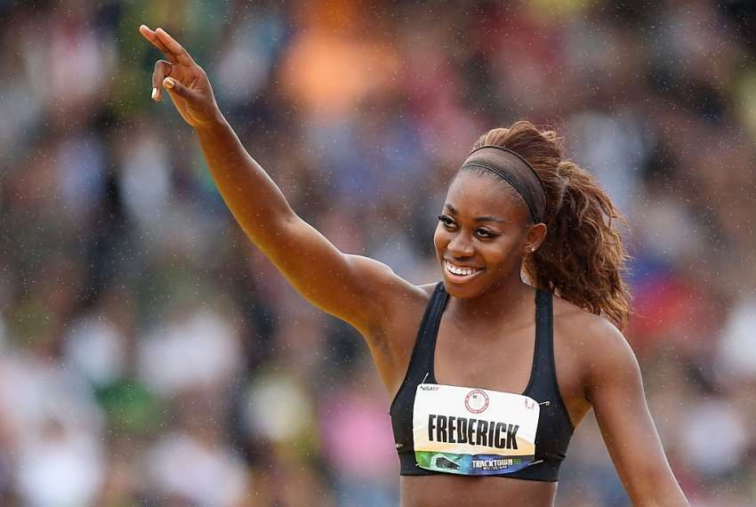 National high jumper says she continues to work on weaknesses