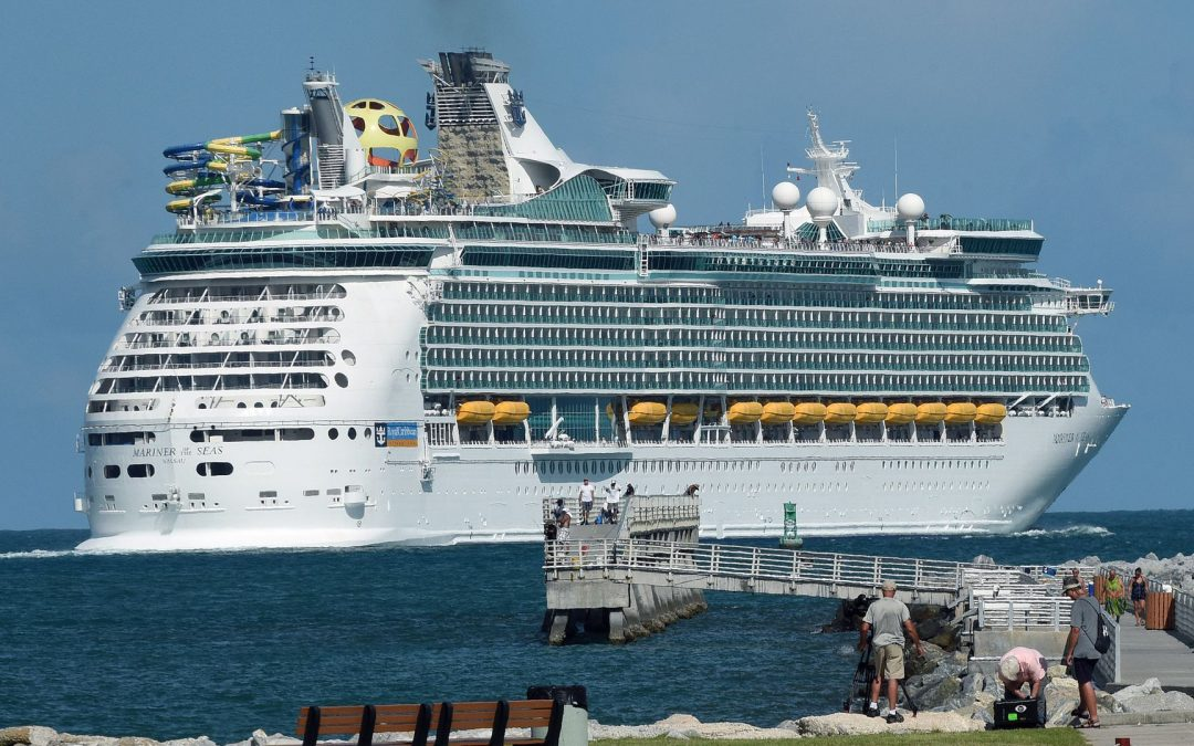 INTERNATIONAL: Cruise lines voluntarily suspend all trips out of U.S. ports until Sept. 15, trade group says