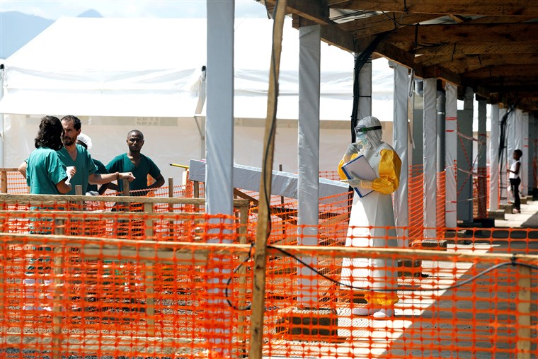 INTERNATIONAL: Ebola in Congo: 2nd outbreak of Ebola is reported in Congo, WHO says
