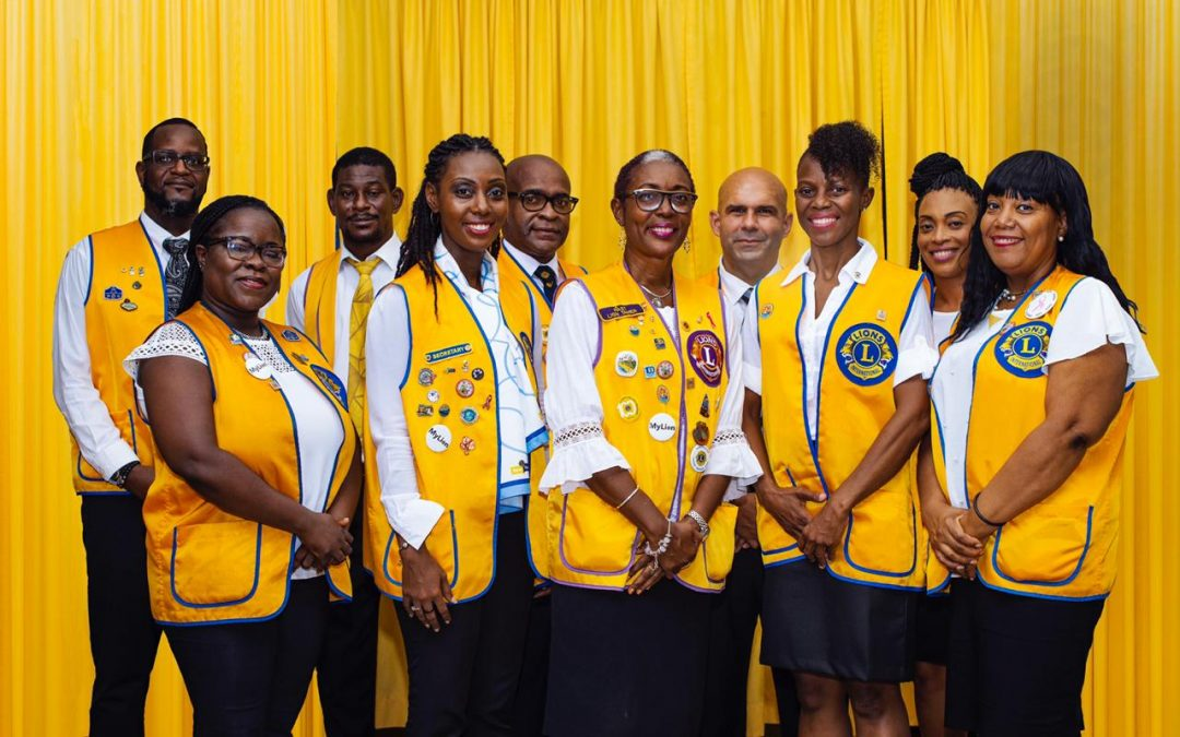Lions Club of Antigua installs new board