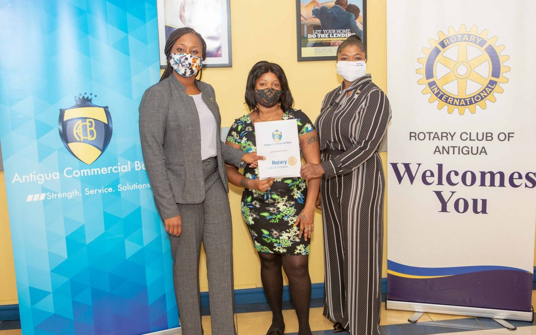 ACB and the Rotary Club of Antigua team up to help