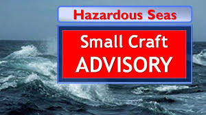 Small Craft Advisory Goes Into Effect Tonight