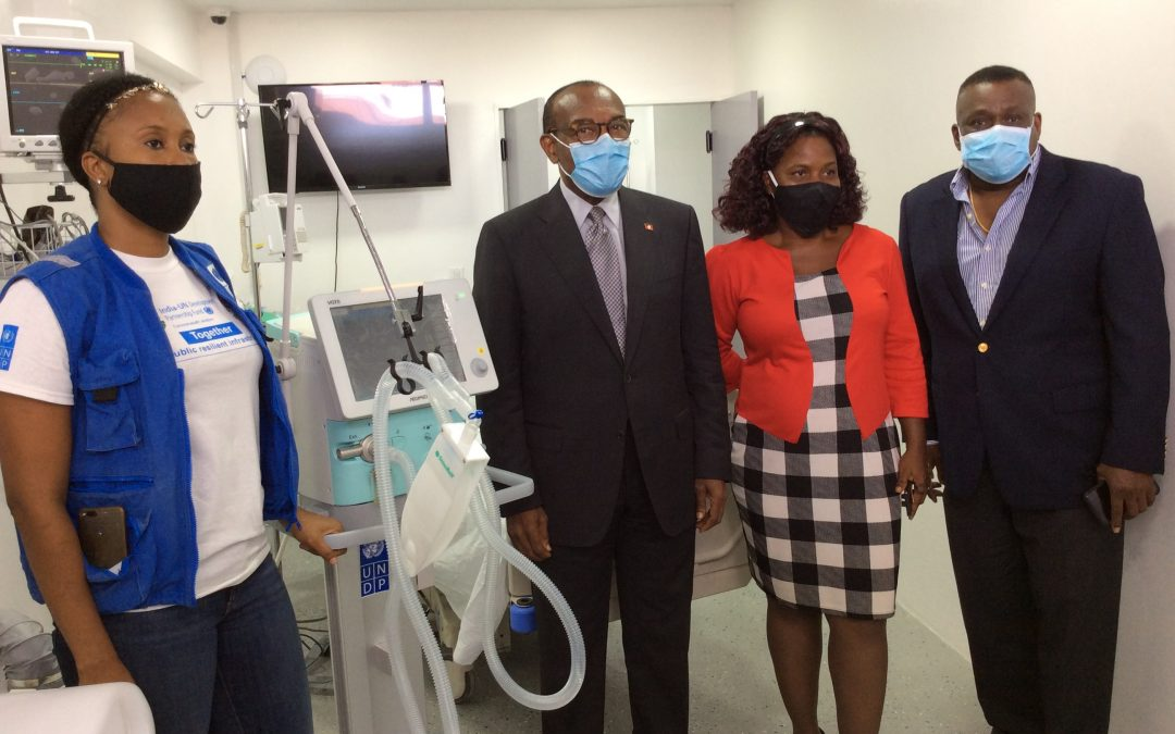 Country gifted with five ventilators