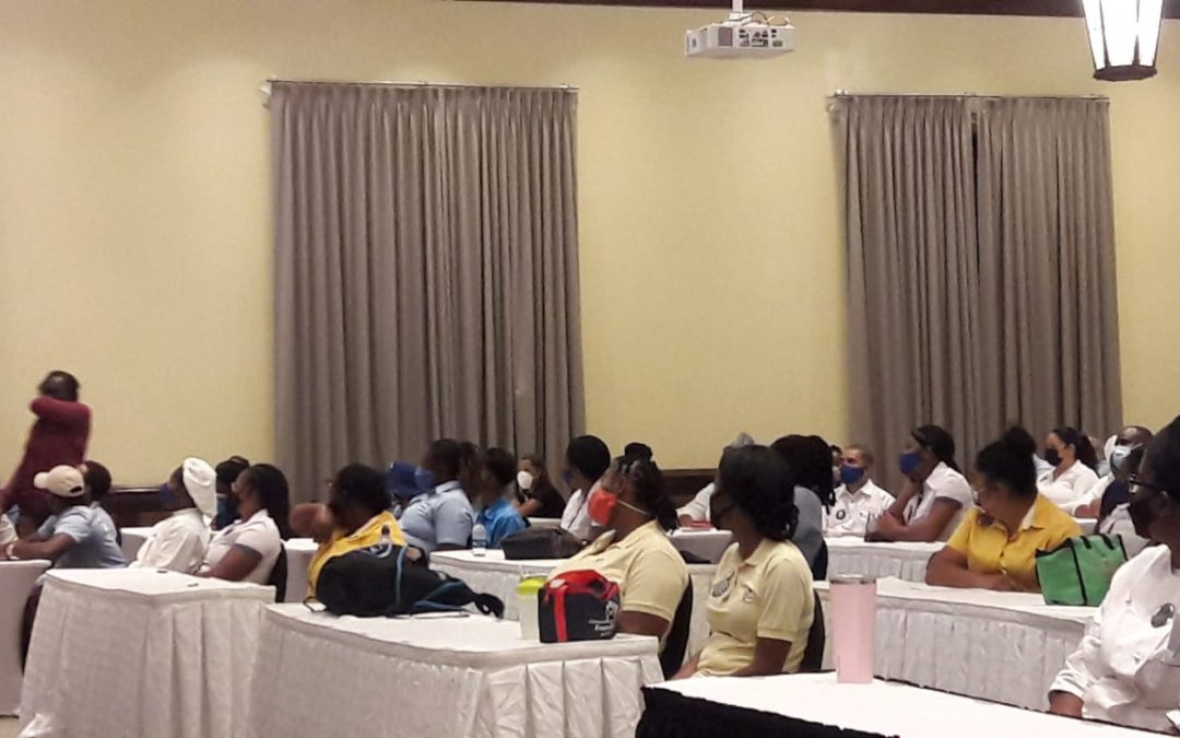 Covid training for Barbuda hospitality workers