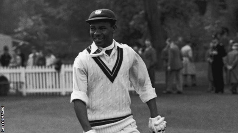 Sir Everton Weekes: West Indies legend dies aged 95