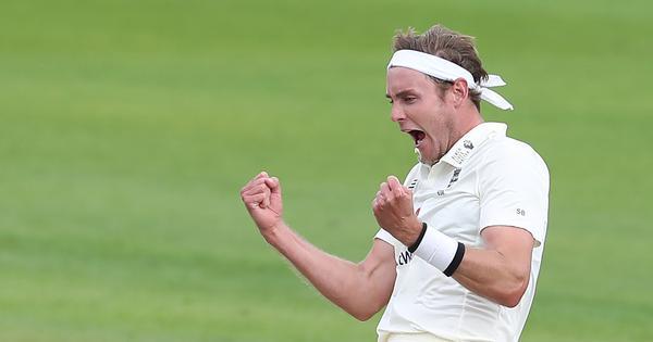 Stuart Broad puts hosts on verge of victory