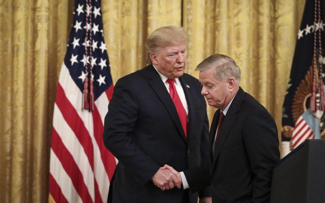INTERNATIONAL: Republican senators shoot down Trump suggestion to 'delay the election'