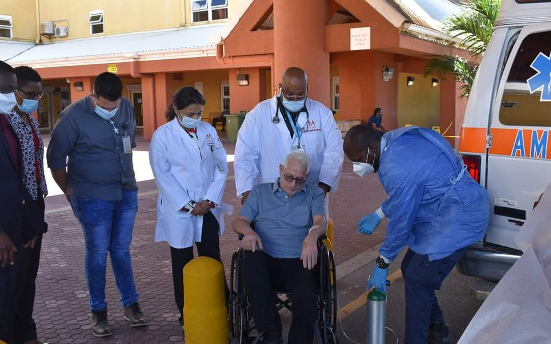 Breaking News: Dr Daoud released from hospital