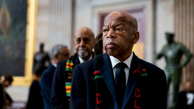Civil rights icon and congressman dies aged 80