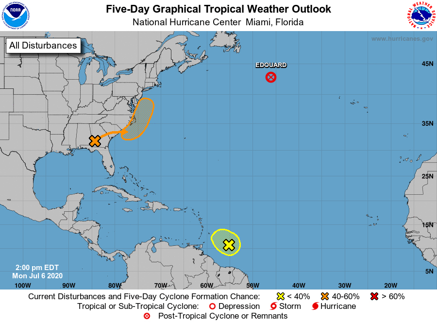 Tropical disturbance likely to bring much needed rain