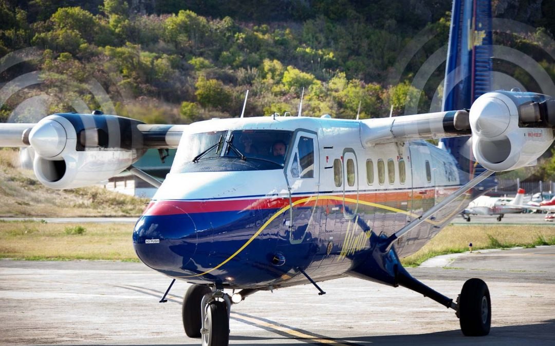 Winair offers flights between Antigua and St Maarten