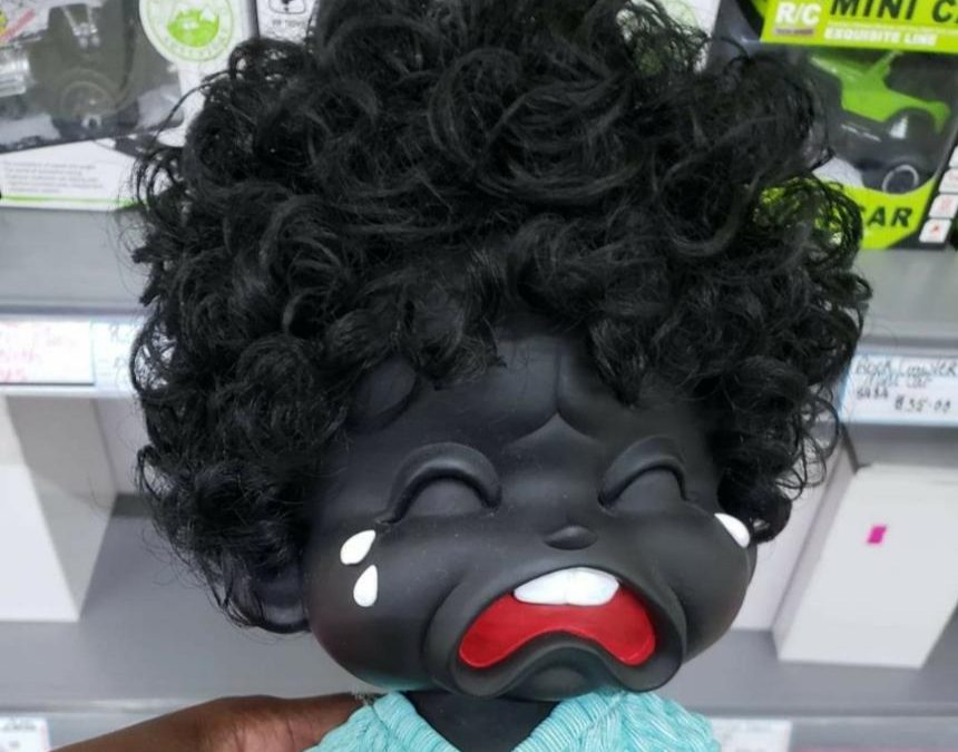 Supermarket apologises for 'offensive doll'