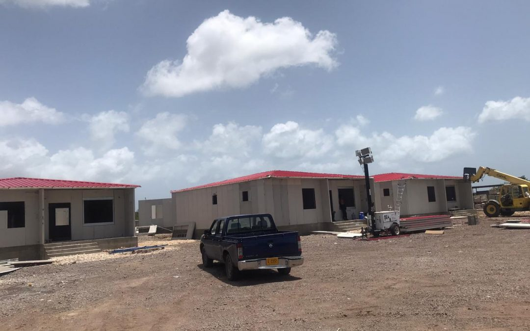 Temporary housing for Booby Alley residents should be ready soon