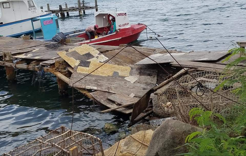 Repairs to Keeling Point wharf expected to begin today
