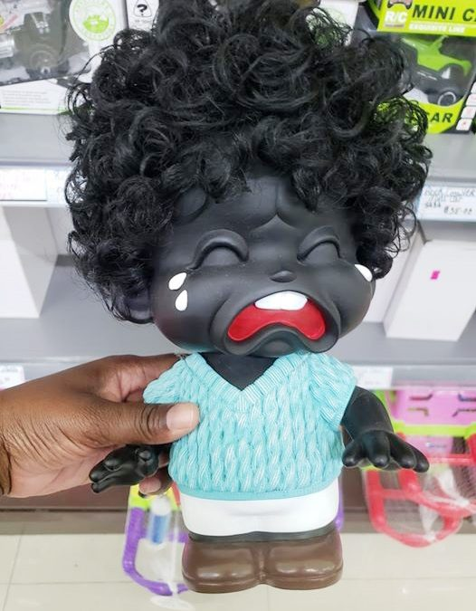 Supermarket apologies after removing doll from its shelves