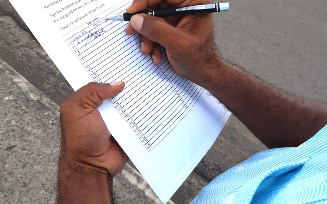 Hundreds sign petition against 'inhumane' prison conditions