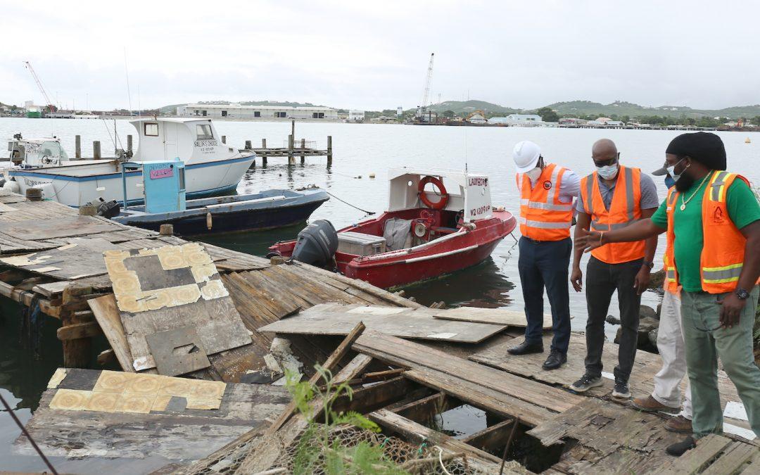 Keeling Point Pier repairs begin
