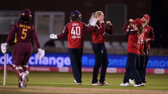 Sciver makes 82 as England beat West Indies to claimT20 series