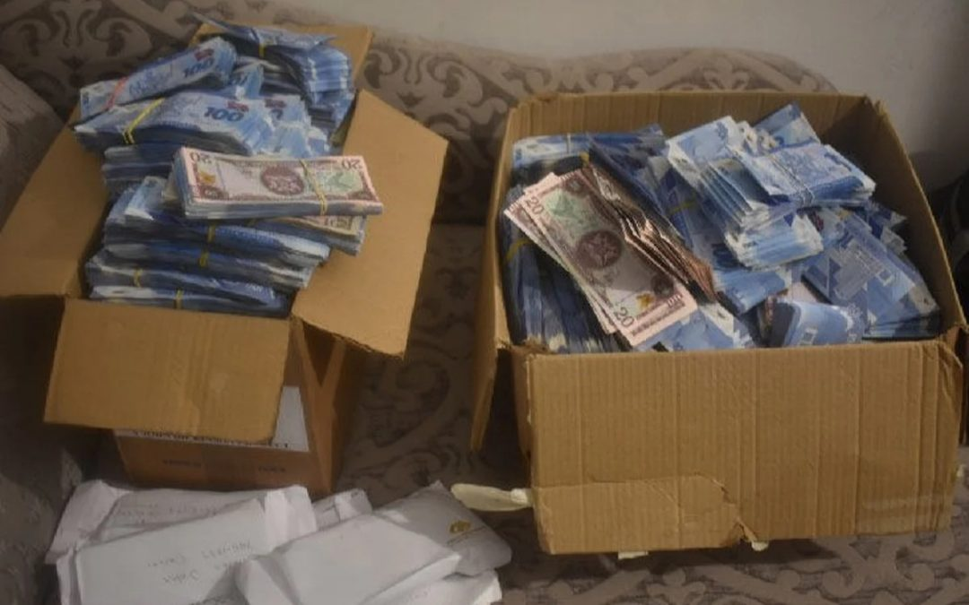 Trinidad cops bust million-dollar 'pyramid scheme', boxes of cash seized