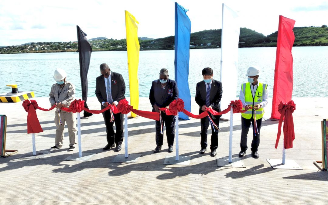 Handover of new ramp marks milestone in port expansion