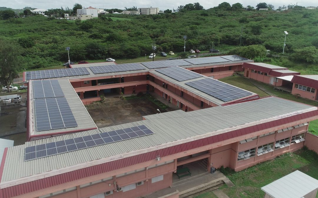 Increased number of schools benefitting from renewable energy