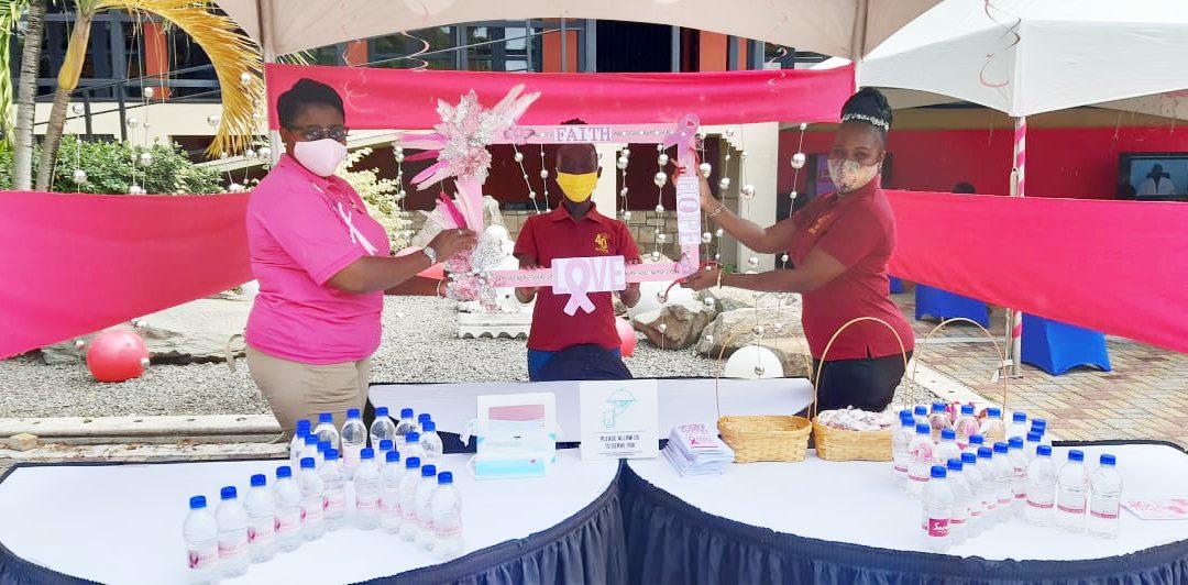 Sandals hosts breast cancer screening