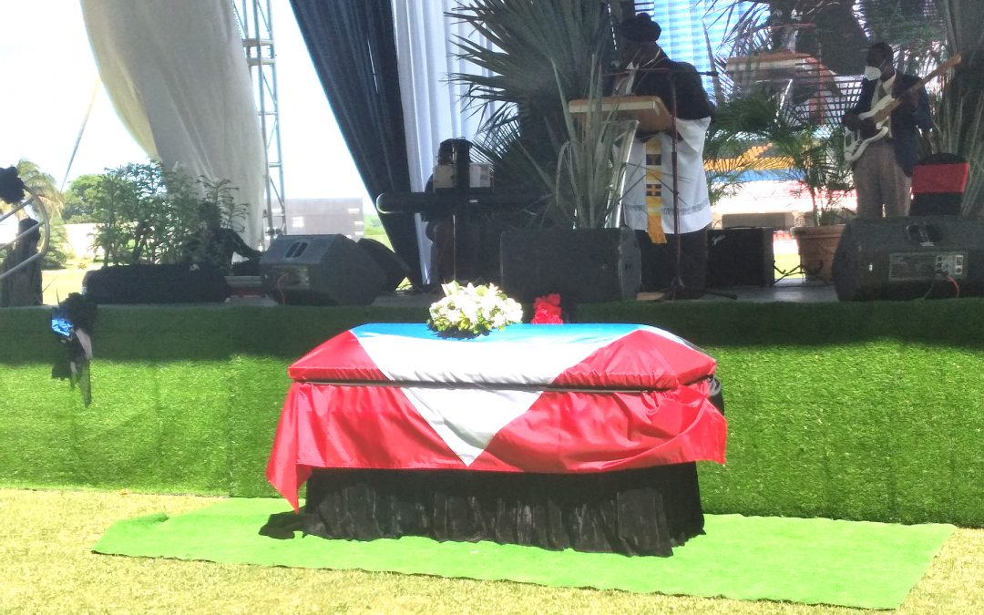 The nation bids farewell to Sir Rupert 'King Swallow' Philo