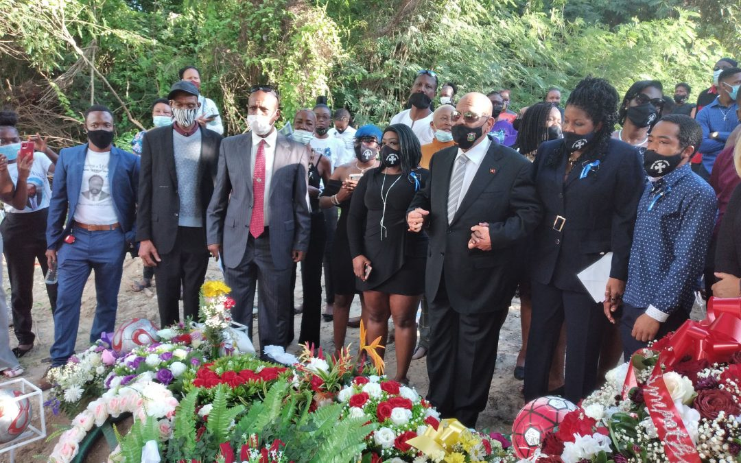 Rolston 'Debu' Williams laid to rest