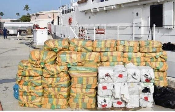 BVI Makes 'Largest Drug Bust in BVI History' Worth $250 Million; Drugs Found at Policeman's House