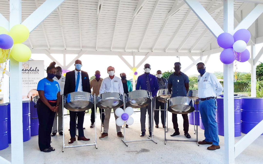 Donation of steel pans to boost All Saints Secondary's music programme