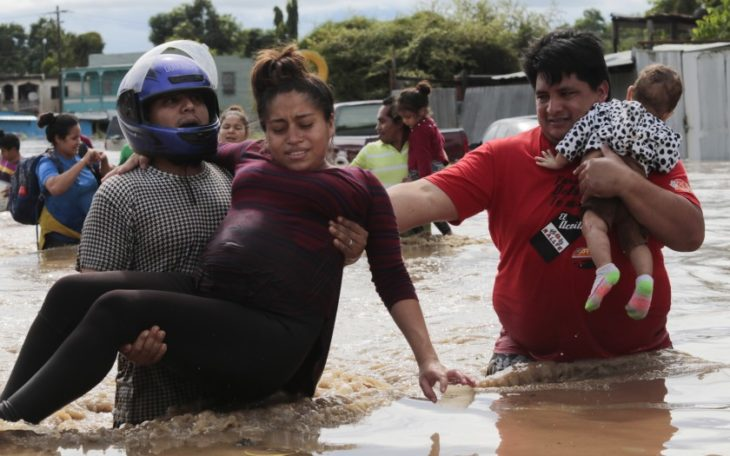 PAHO provides aid for battered Central America