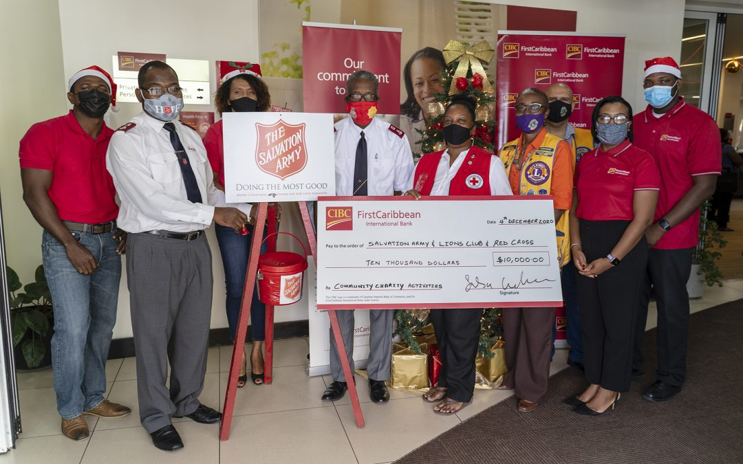 CIBC FirstCaribbean helps to spread Christmas cheer