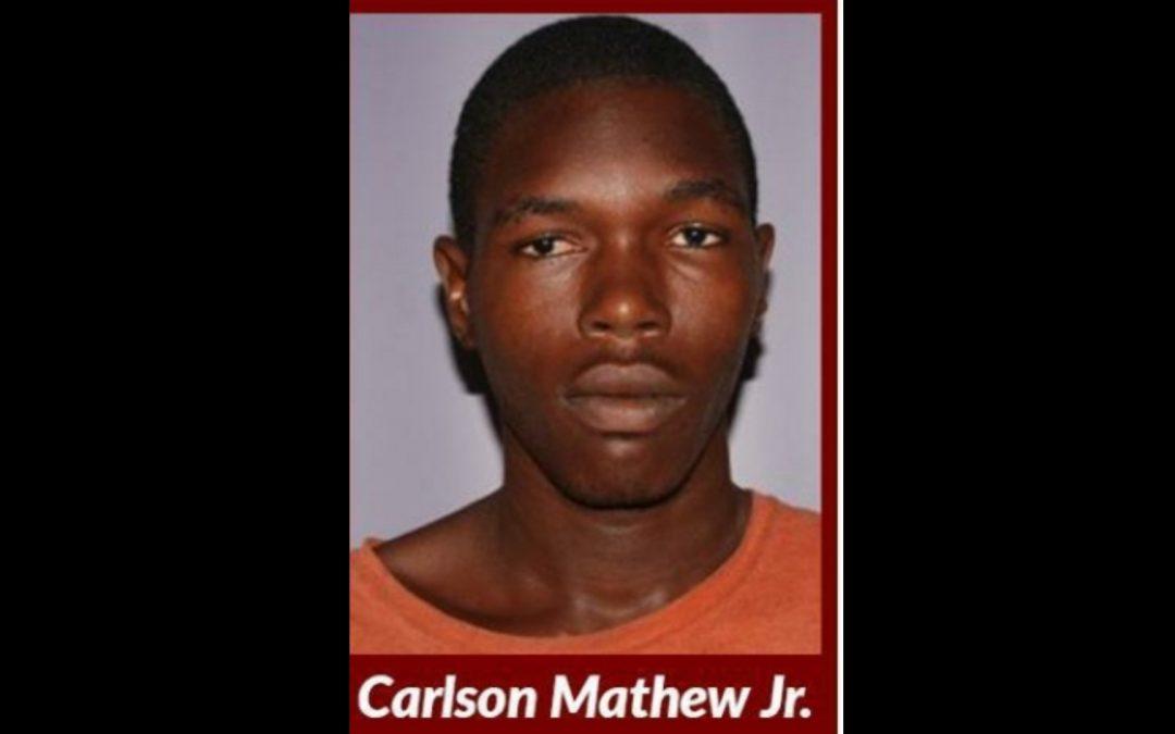 Carlson Mathew Jr. Escapes Police Custody