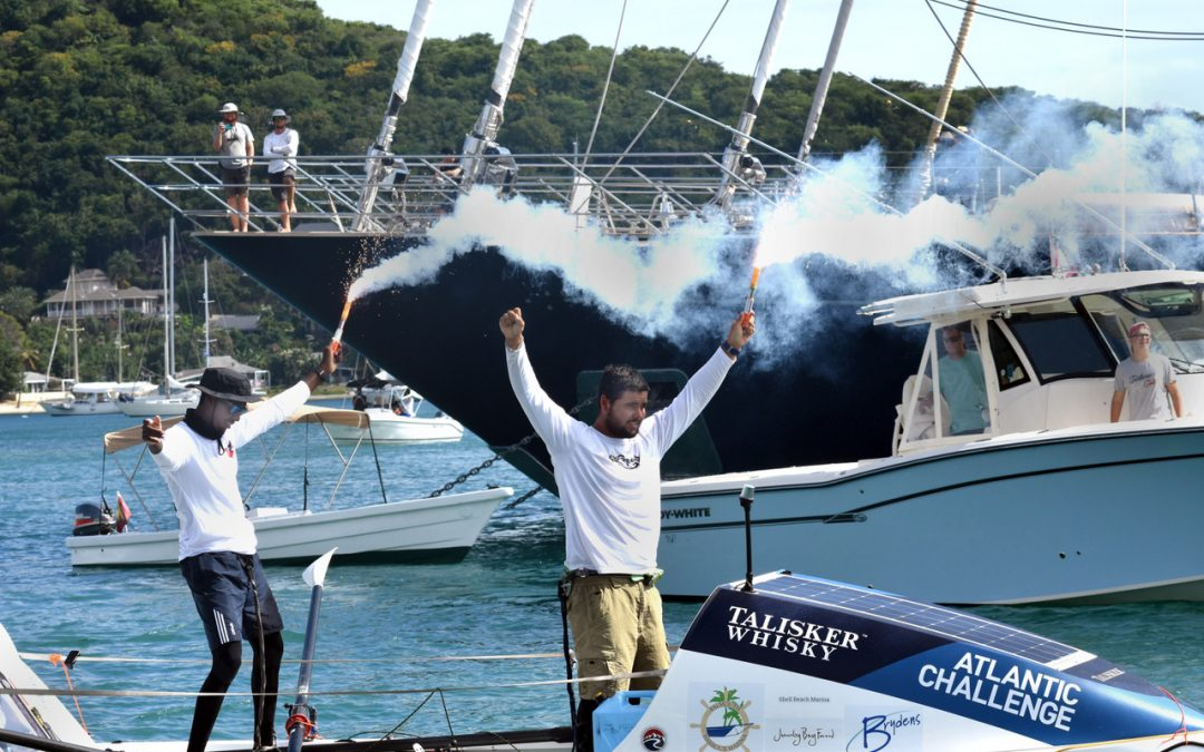 Heroes' welcome for Team Antigua Pairs