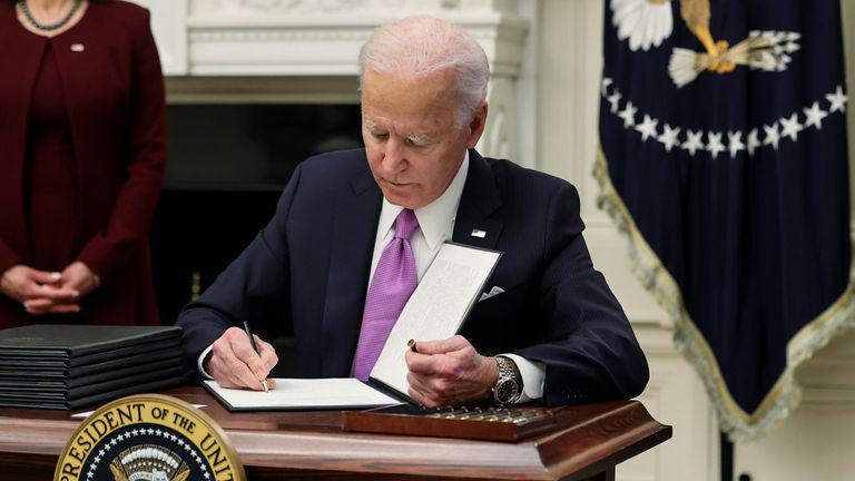 PM Browne thanks Joe Biden for showing environmental leadership