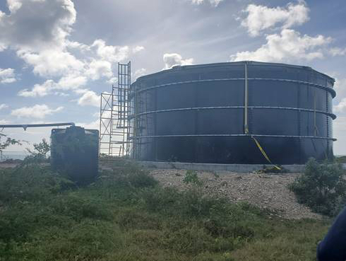 Codrington water tank to significantly increase supply for residents