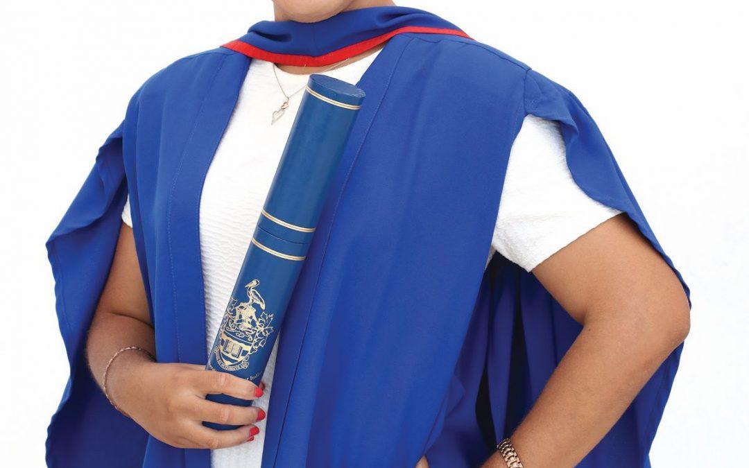 Six women make history as first graduands at UWI Five Islands