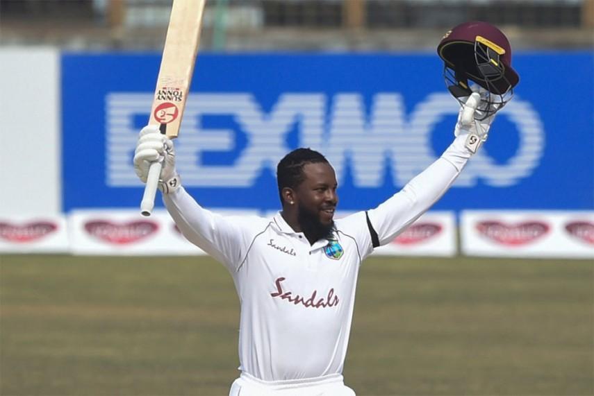 Test debutant Mayers scores unbeaten 210, spurs West Indies to improbable victory