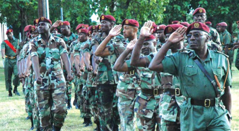 Breaking News: Defence Force temporarily shuts bases