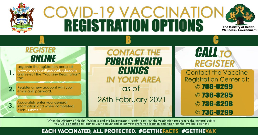 Vaccine registration system overwhelmed within a day of going live